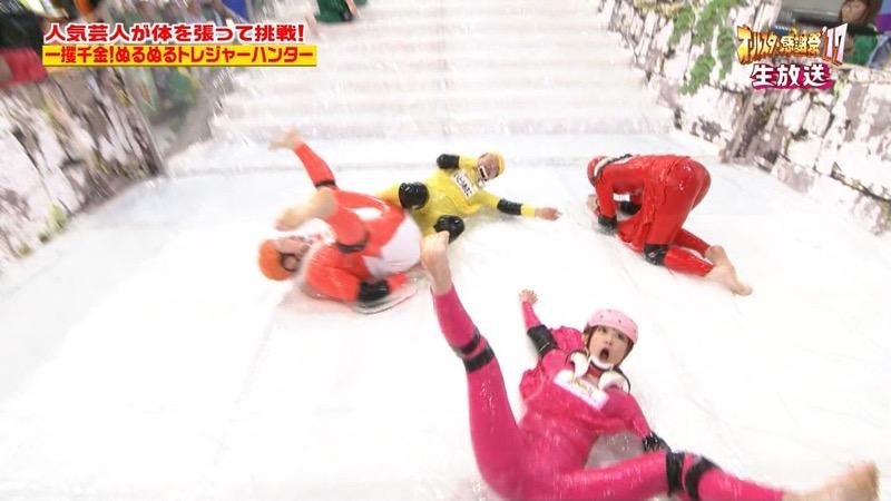 【放送事故画像】24時間テレビでおっぱいポロリしかけた鈴木奈々の大開脚が恥ずかし過ぎたwwww 36