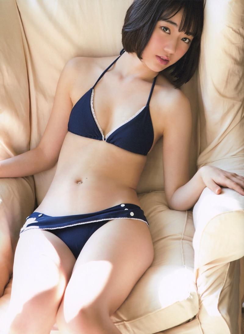 【宮脇咲良グラビア画像】透明感のある美肌がキレイな美少女系AKB48アイドルのエッチなビキニ姿 34