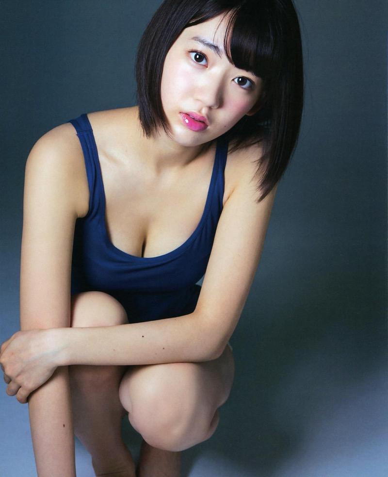 【宮脇咲良グラビア画像】透明感のある美肌がキレイな美少女系AKB48アイドルのエッチなビキニ姿 75
