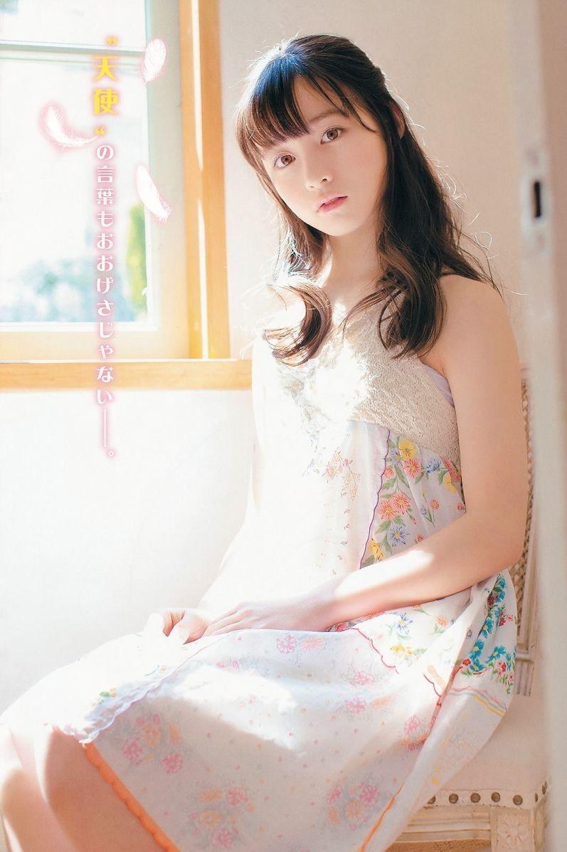 【橋本環奈グラビア画像】アイドル活動中に偶然撮られた1枚の写真で大ブレイクした奇跡の美少女 05