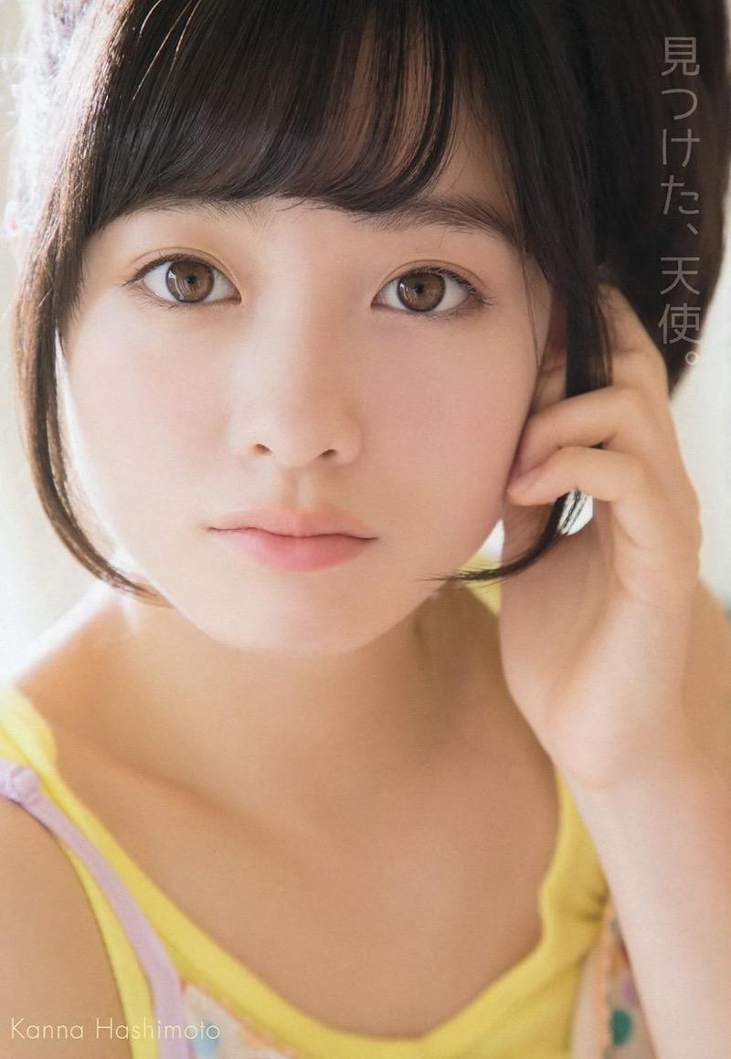 【橋本環奈グラビア画像】アイドル活動中に偶然撮られた1枚の写真で大ブレイクした奇跡の美少女 10