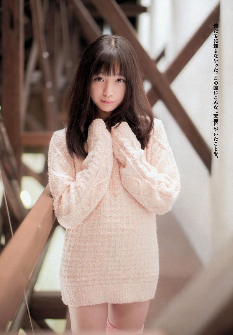 【橋本環奈グラビア画像】アイドル活動中に偶然撮られた1枚の写真で大ブレイクした奇跡の美少女 12