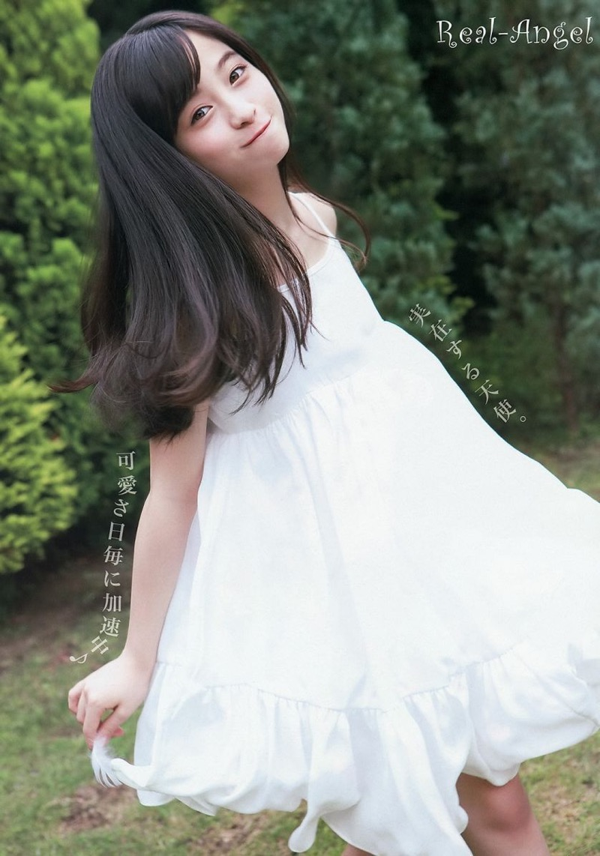 【橋本環奈グラビア画像】アイドル活動中に偶然撮られた1枚の写真で大ブレイクした奇跡の美少女 14