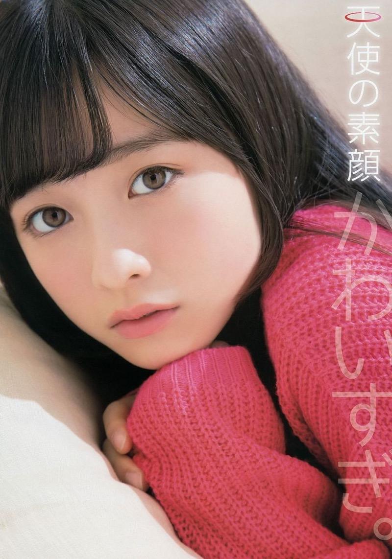 【橋本環奈グラビア画像】アイドル活動中に偶然撮られた1枚の写真で大ブレイクした奇跡の美少女 15