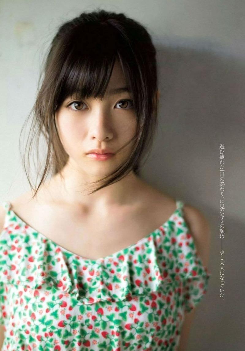 【橋本環奈グラビア画像】アイドル活動中に偶然撮られた1枚の写真で大ブレイクした奇跡の美少女 16