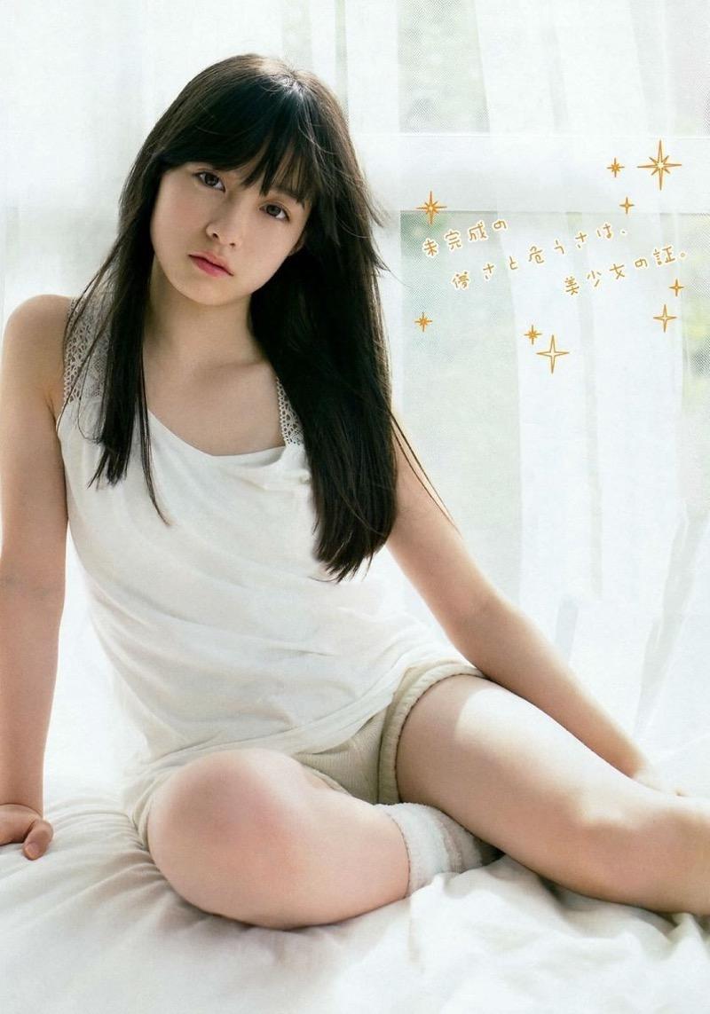 【橋本環奈グラビア画像】アイドル活動中に偶然撮られた1枚の写真で大ブレイクした奇跡の美少女 21
