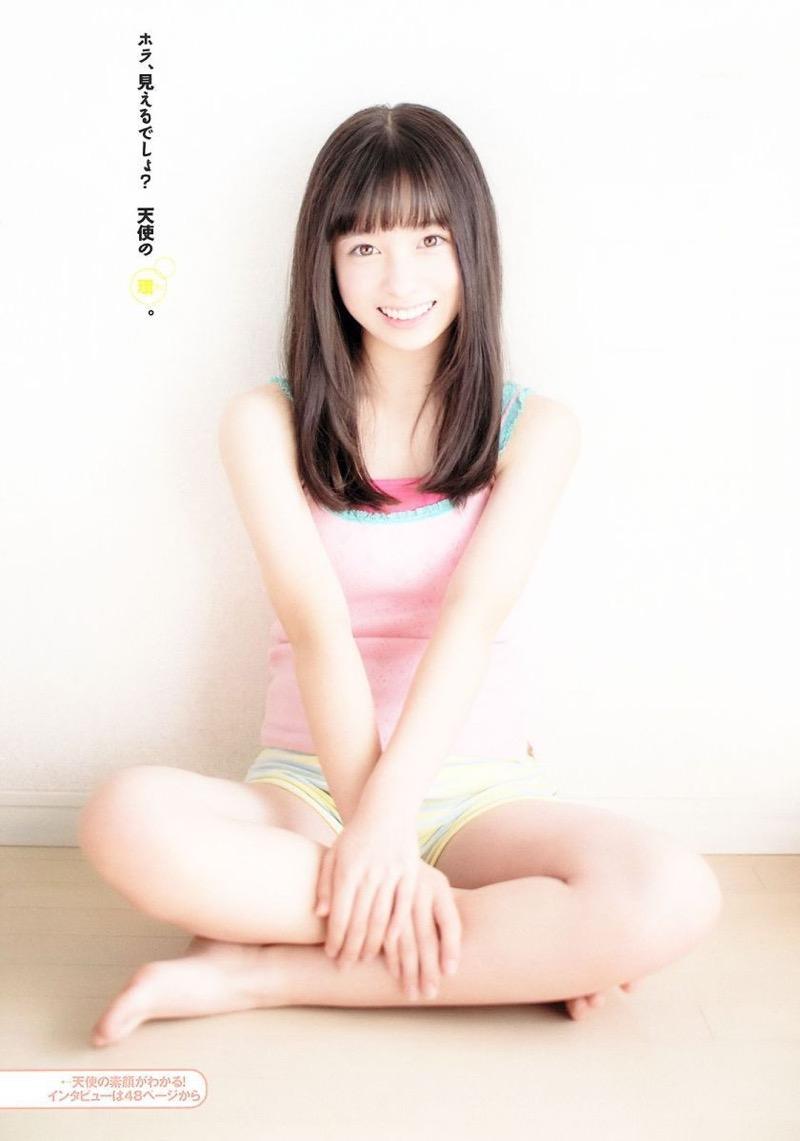 【橋本環奈グラビア画像】アイドル活動中に偶然撮られた1枚の写真で大ブレイクした奇跡の美少女 24