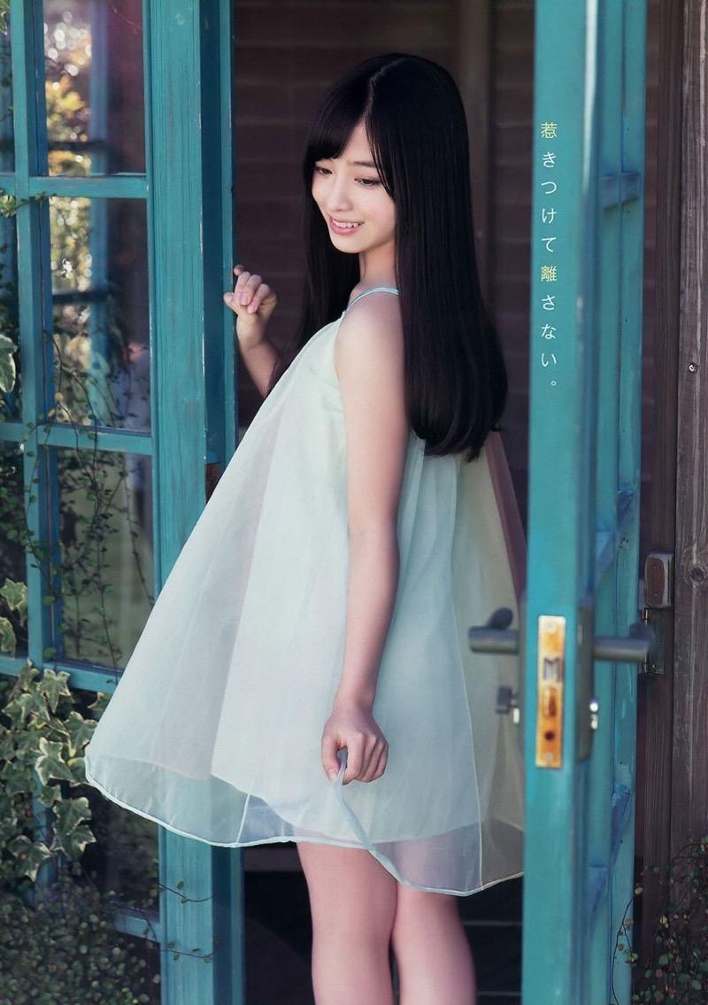 【橋本環奈グラビア画像】アイドル活動中に偶然撮られた1枚の写真で大ブレイクした奇跡の美少女 29
