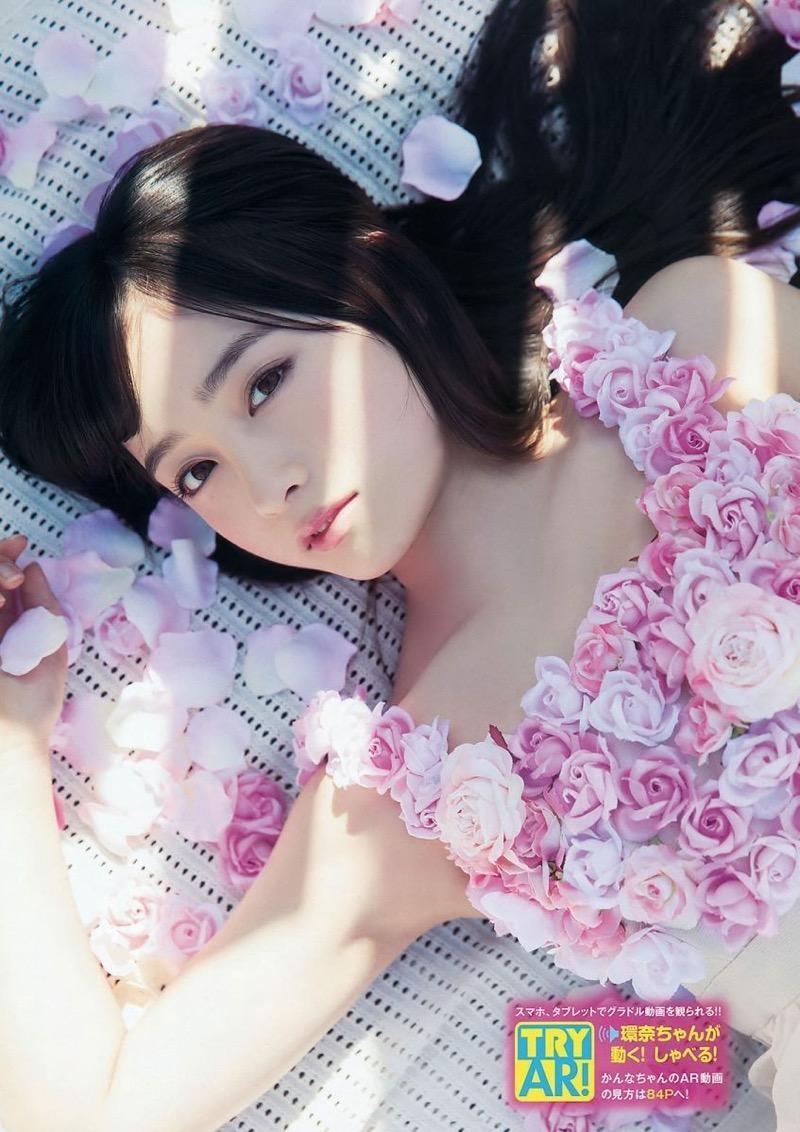 【橋本環奈グラビア画像】アイドル活動中に偶然撮られた1枚の写真で大ブレイクした奇跡の美少女 33