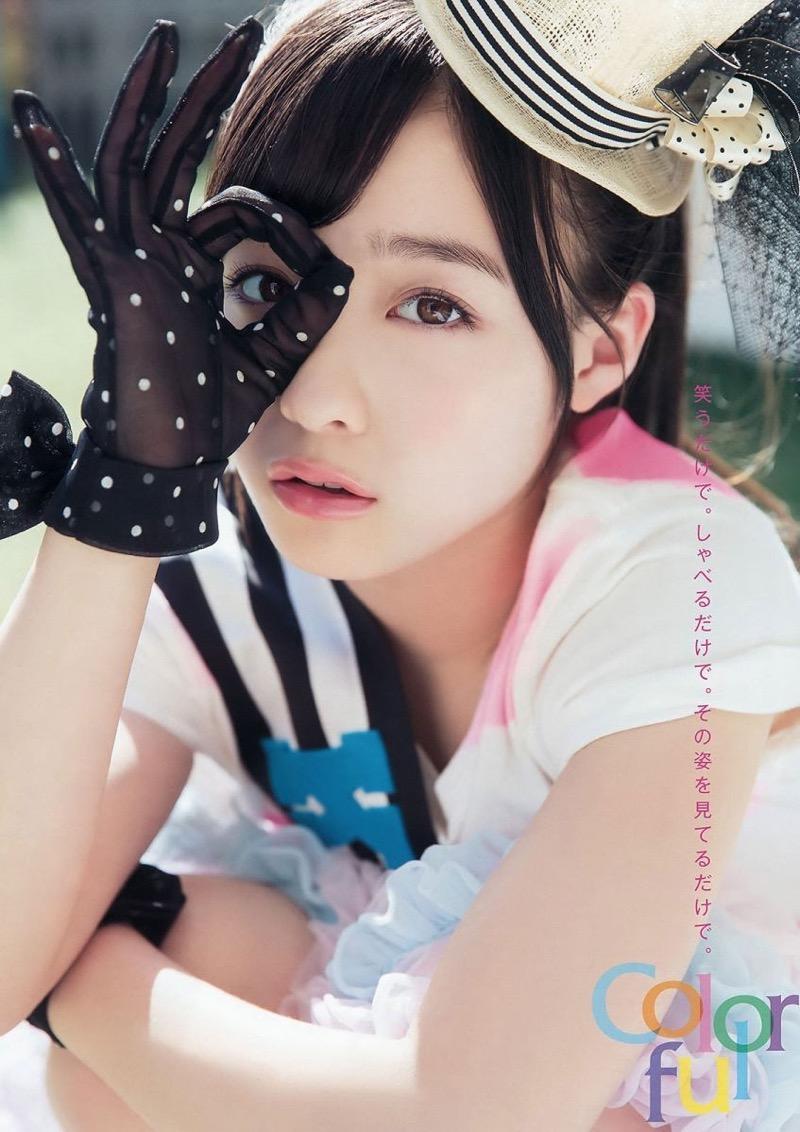 【橋本環奈グラビア画像】アイドル活動中に偶然撮られた1枚の写真で大ブレイクした奇跡の美少女 34
