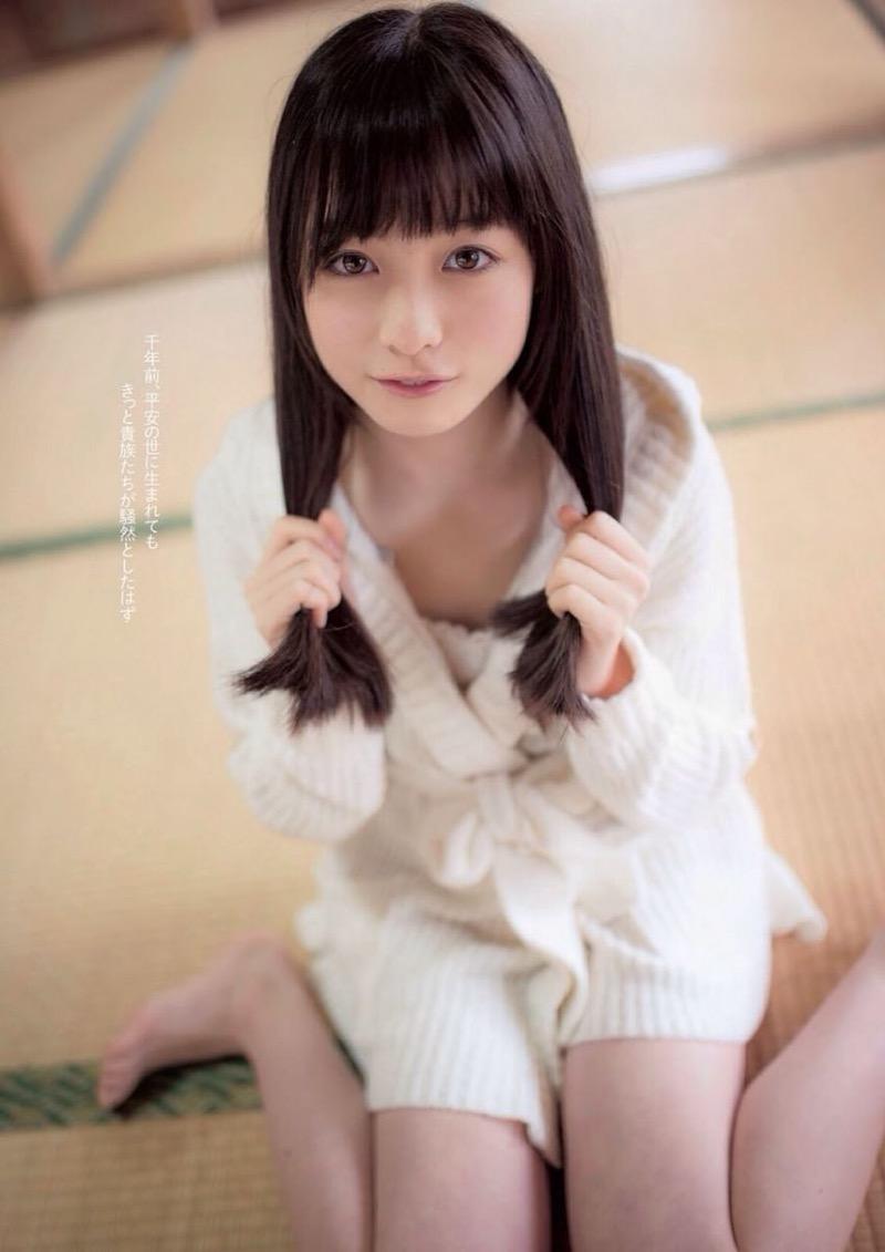 【橋本環奈グラビア画像】アイドル活動中に偶然撮られた1枚の写真で大ブレイクした奇跡の美少女 36