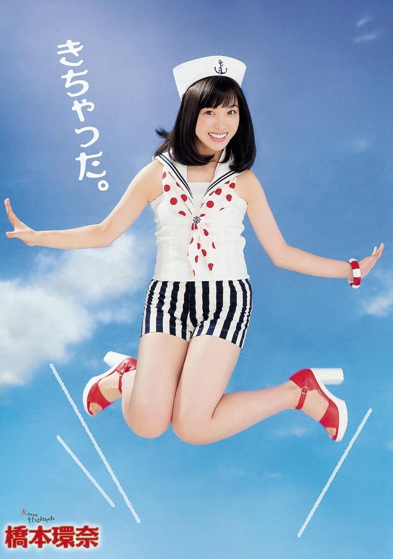 【橋本環奈グラビア画像】アイドル活動中に偶然撮られた1枚の写真で大ブレイクした奇跡の美少女 49