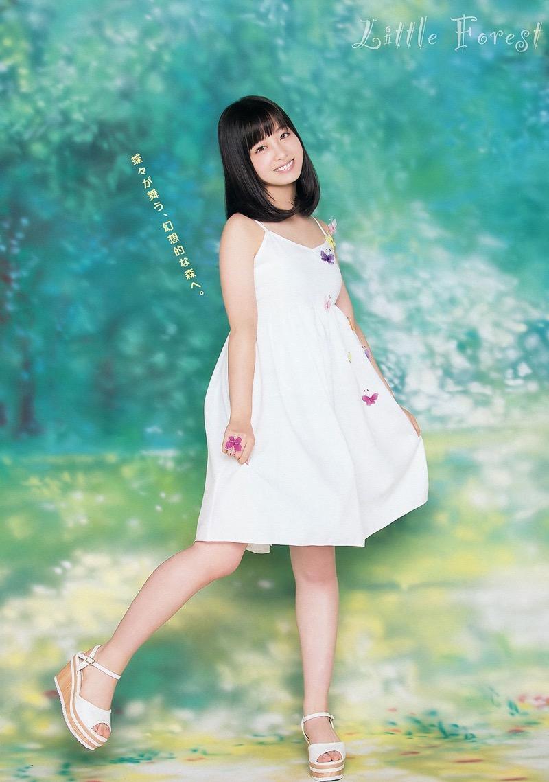 【橋本環奈グラビア画像】アイドル活動中に偶然撮られた1枚の写真で大ブレイクした奇跡の美少女 50