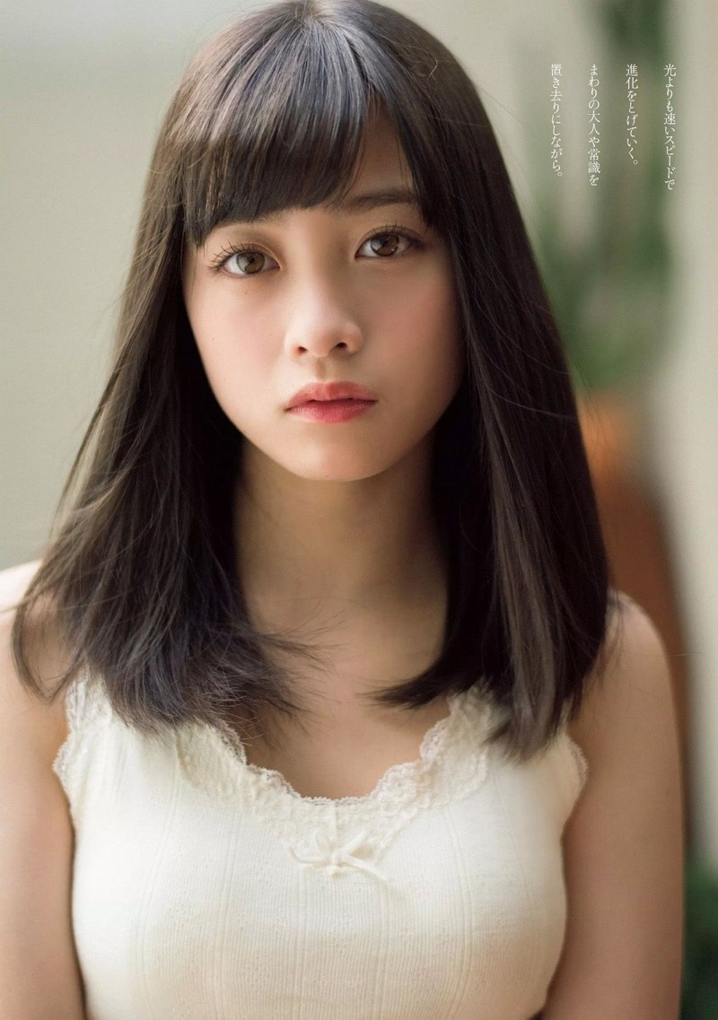 【橋本環奈グラビア画像】アイドル活動中に偶然撮られた1枚の写真で大ブレイクした奇跡の美少女 55