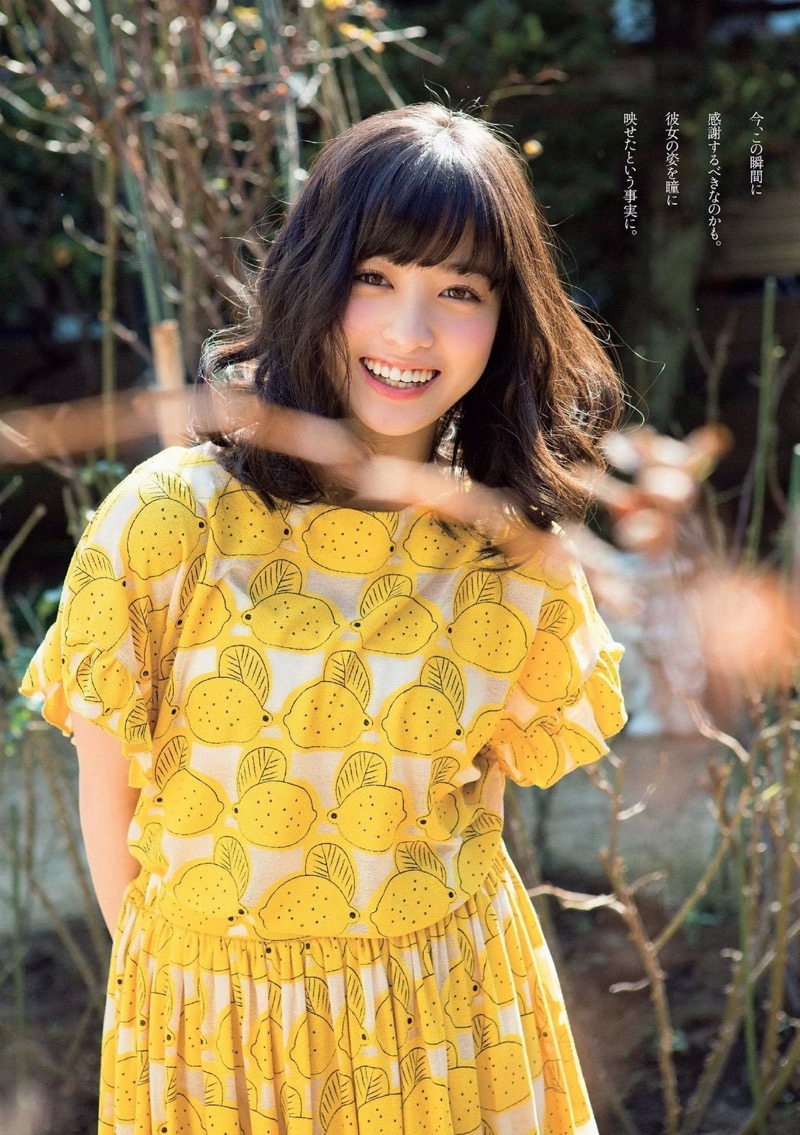 【橋本環奈グラビア画像】アイドル活動中に偶然撮られた1枚の写真で大ブレイクした奇跡の美少女 57
