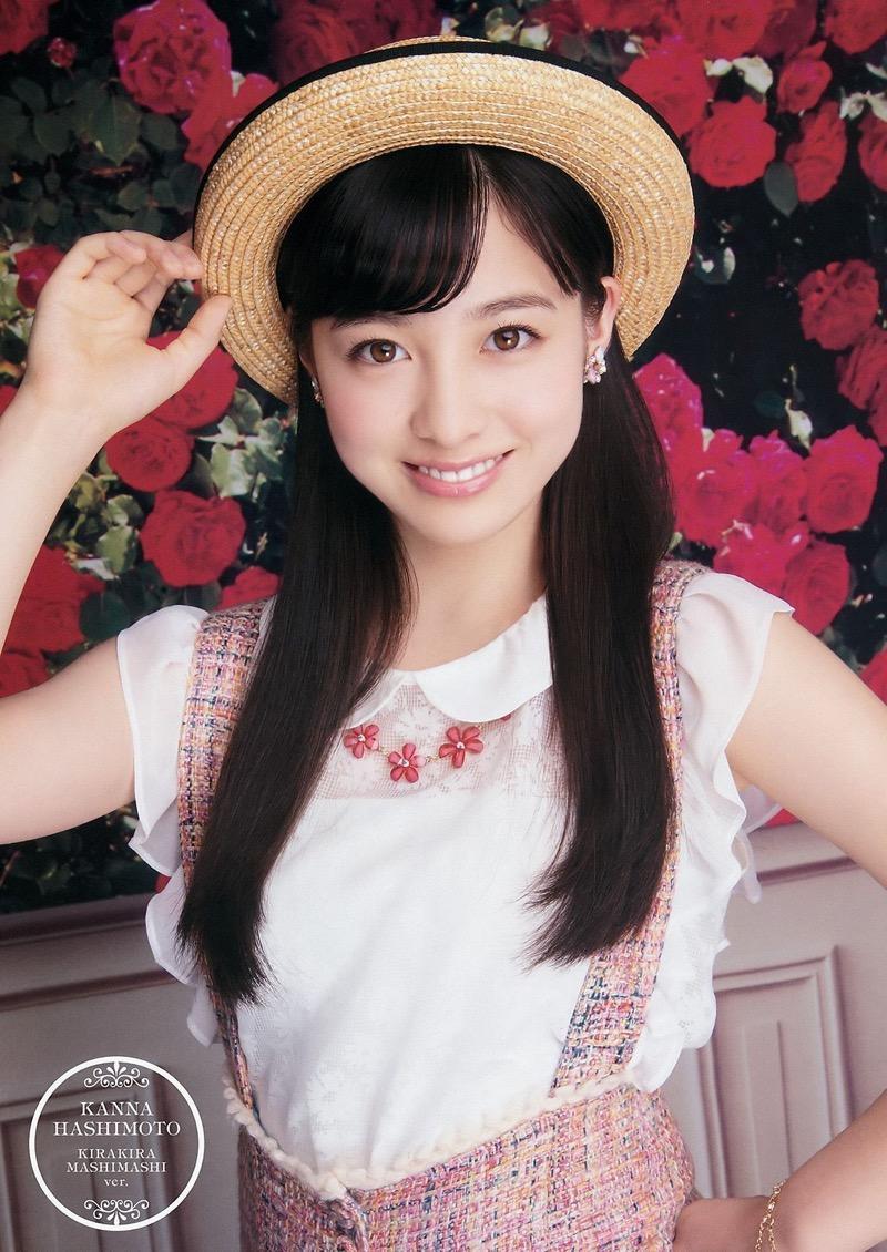 【橋本環奈グラビア画像】アイドル活動中に偶然撮られた1枚の写真で大ブレイクした奇跡の美少女 64