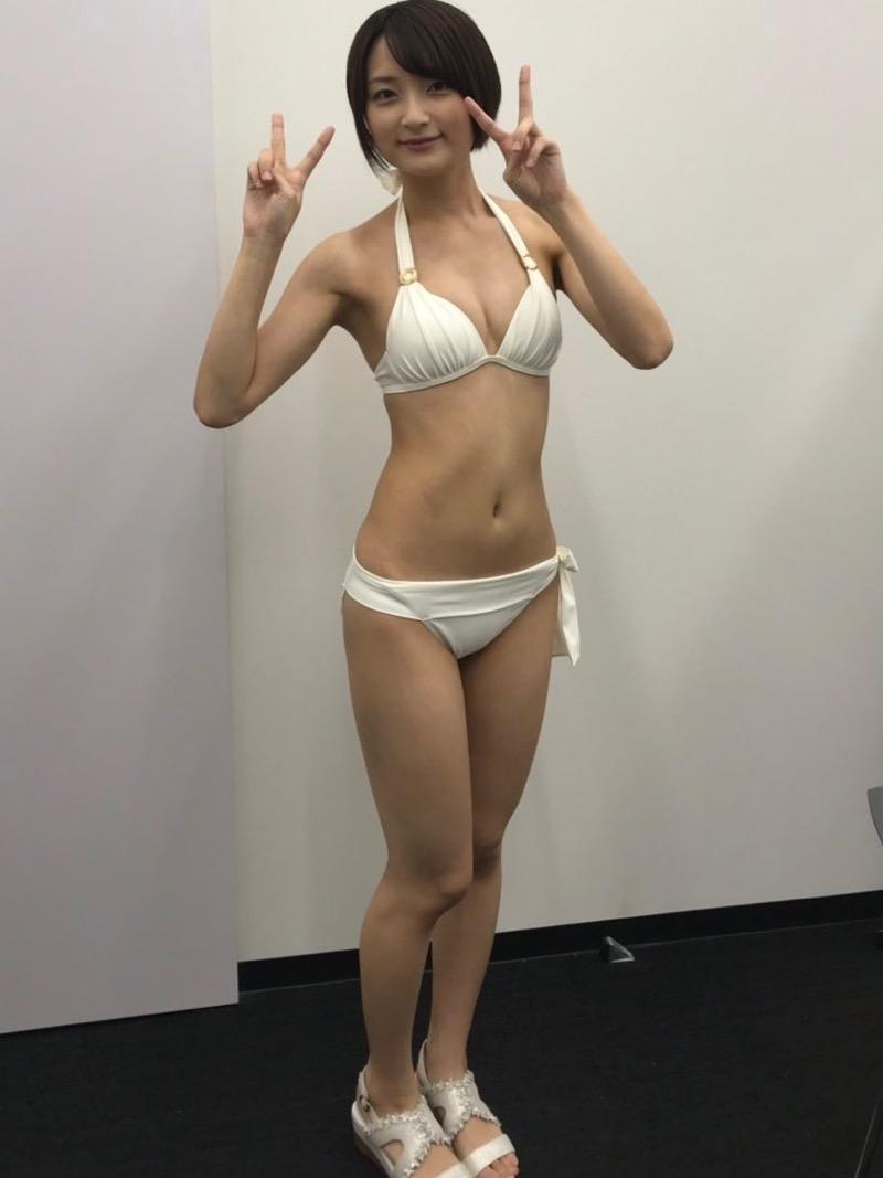 【宇佐美彩乃エロ画像】スレンダーな身体に意外と大きめなお尻がエッチなショートカットグラドル 41