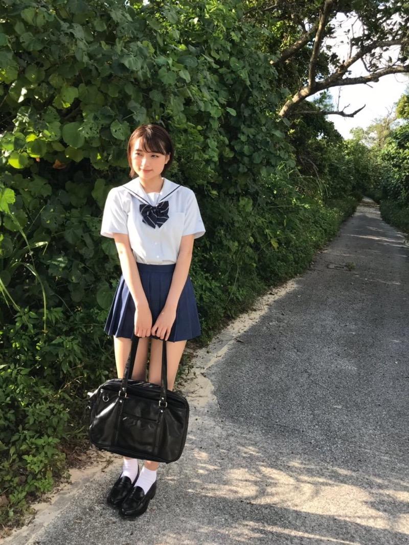 【宇佐美彩乃エロ画像】スレンダーな身体に意外と大きめなお尻がエッチなショートカットグラドル 45