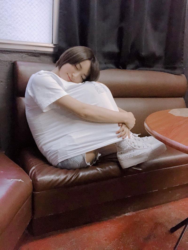 【宇佐美彩乃エロ画像】スレンダーな身体に意外と大きめなお尻がエッチなショートカットグラドル 63