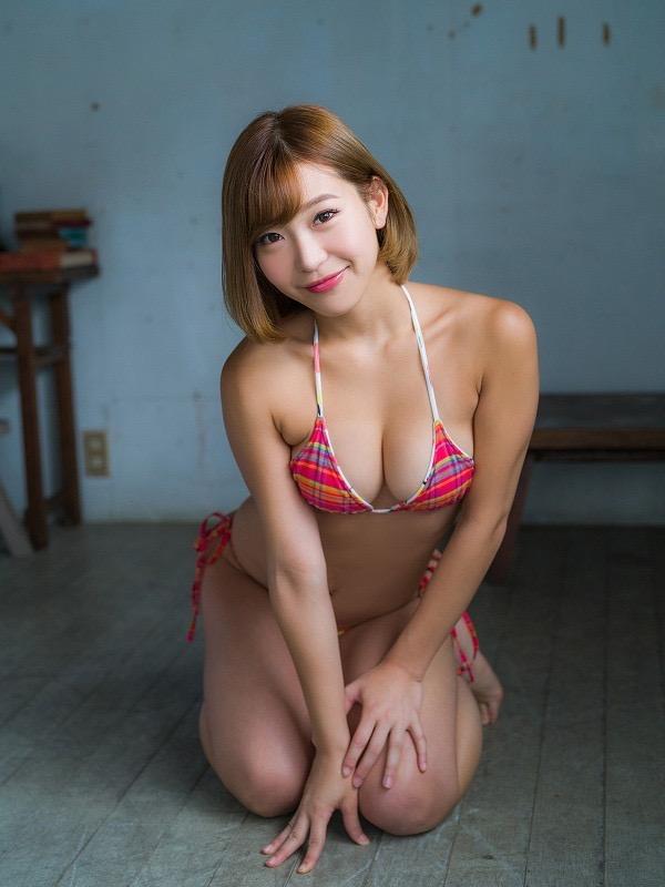 【COCOグラビア画像】ハメ撮りチャットがバレて引退した石原佑里子が改名してグラビア復活! 11