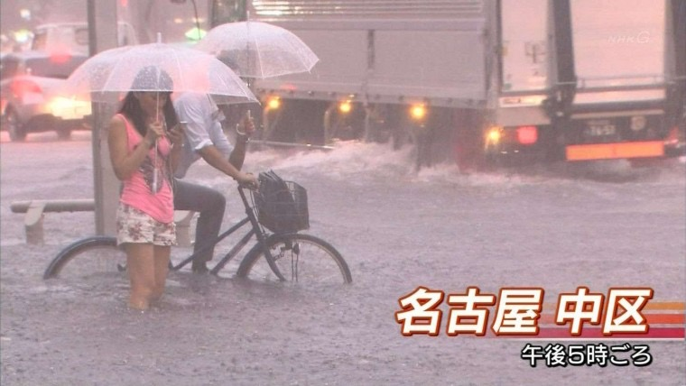 【台風エロ画像】容赦なく襲ってくる強風や豪雨に翻弄される女性達のパンチラ放送事故! 63