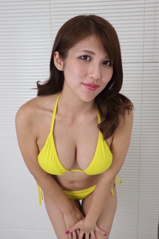 【神谷麻美エロ画像】RIP所属のギャル系グラビアアイドルが爆乳らしいのでビキニ姿を集めてみたw 44