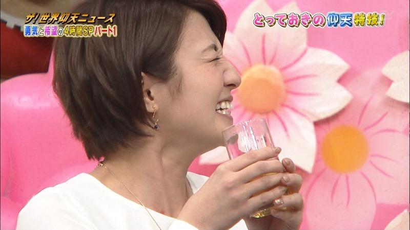 【放送事故画像】日テレ女子アナの久野静香さん太ももを見せたりヤバい表情を画面に晒してしまうwwww 06