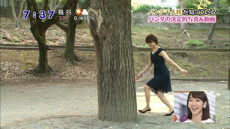 【放送事故画像】日テレ女子アナの久野静香さん太ももを見せたりヤバい表情を画面に晒してしまうwwww 19