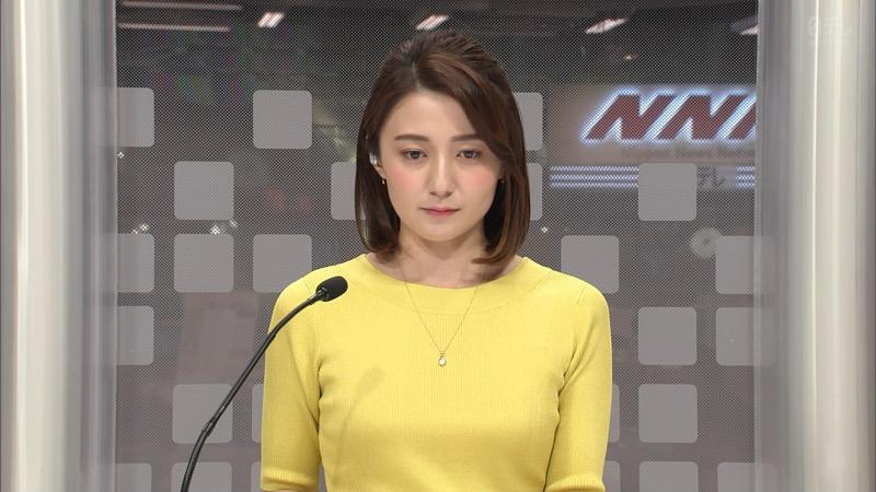 【放送事故画像】日テレ女子アナの久野静香さん太ももを見せたりヤバい表情を画面に晒してしまうwwww 41