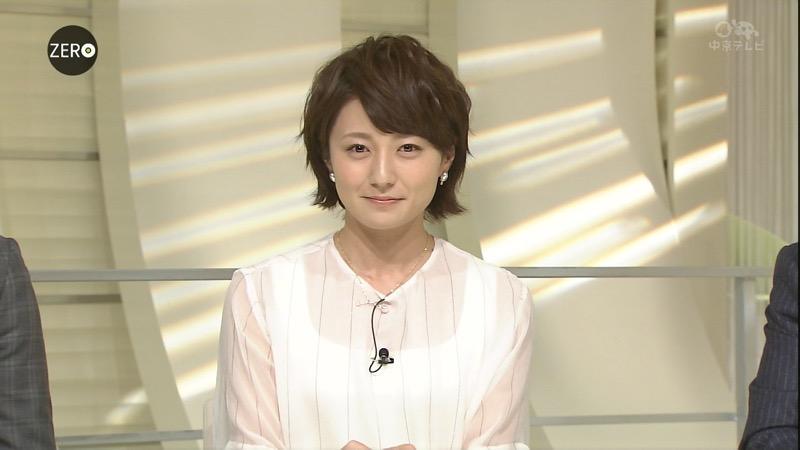【放送事故画像】日テレ女子アナの久野静香さん太ももを見せたりヤバい表情を画面に晒してしまうwwww 66