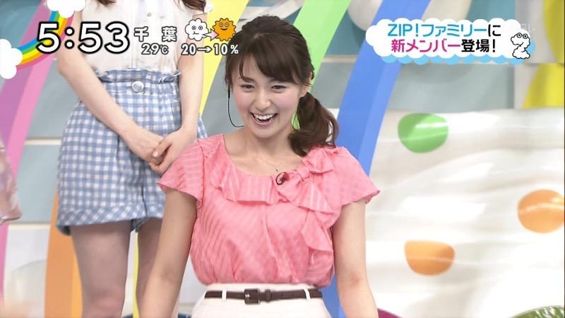 【放送事故画像】日テレ女子アナの久野静香さん太ももを見せたりヤバい表情を画面に晒してしまうwwww 71