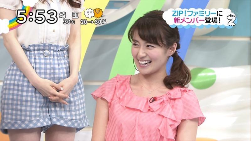 【放送事故画像】日テレ女子アナの久野静香さん太ももを見せたりヤバい表情を画面に晒してしまうwwww 72