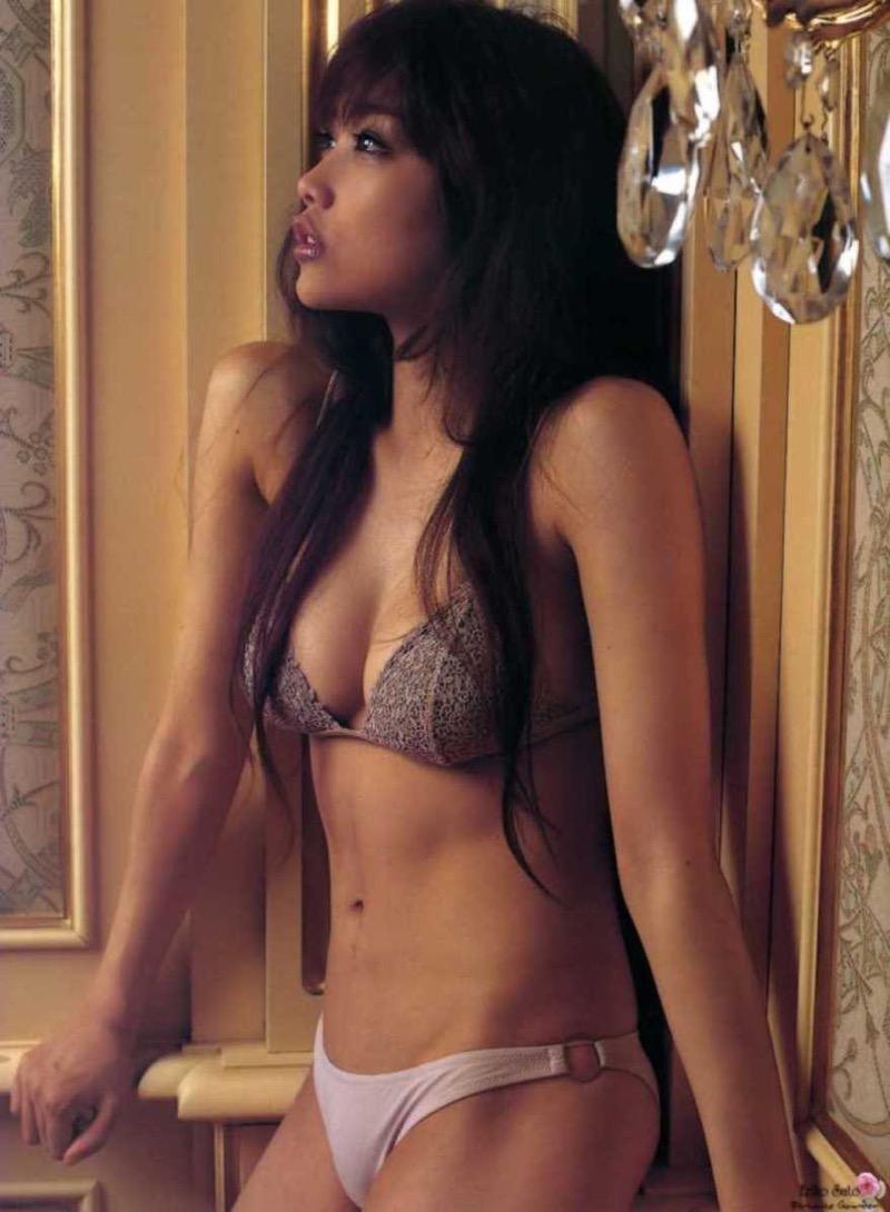 【タレント下着エロ画像】綺麗な美人タレント達が身につけたセクシーランジェリー姿がめちゃシコい! 52