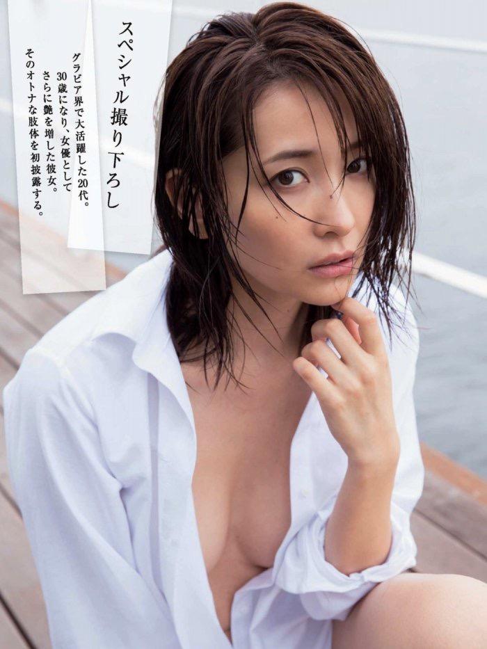【山崎真実グラビア画像】三十路になっても現役グラドルとして頑張っている美熟女のセクシーヌード 20