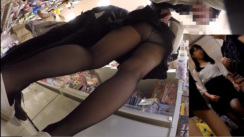 【いたずらエロ画像】子供の頃を思い出してお姉さんやJKたちのスカートをめくってみた結果wwww 70