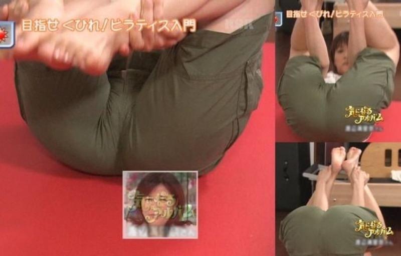 【放送事故画像】テレビ放送中にエッチな部分をカメラを通して全国に晒してしまった女さんwwww 32