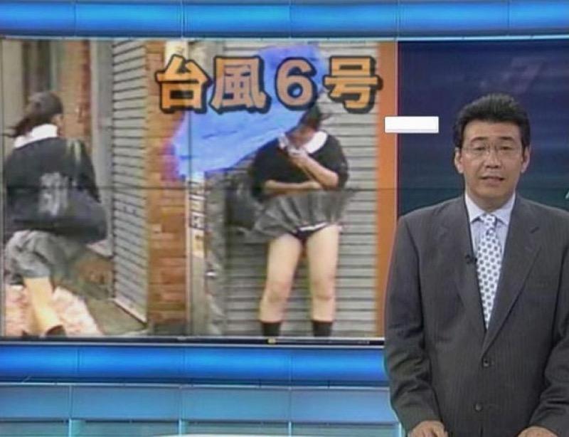 【放送事故画像】テレビ放送中にエッチな部分をカメラを通して全国に晒してしまった女さんwwww 73
