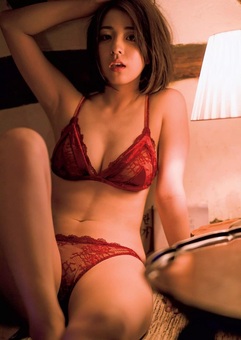 【柳ゆり菜グラビア画像】マッサンで女優としての才能を開花させたクビレボディがエロいEカップグラドル 52