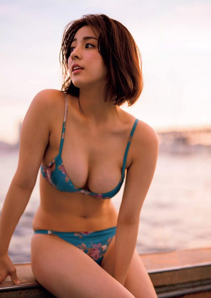【柳ゆり菜グラビア画像】マッサンで女優としての才能を開花させたクビレボディがエロいEカップグラドル 54