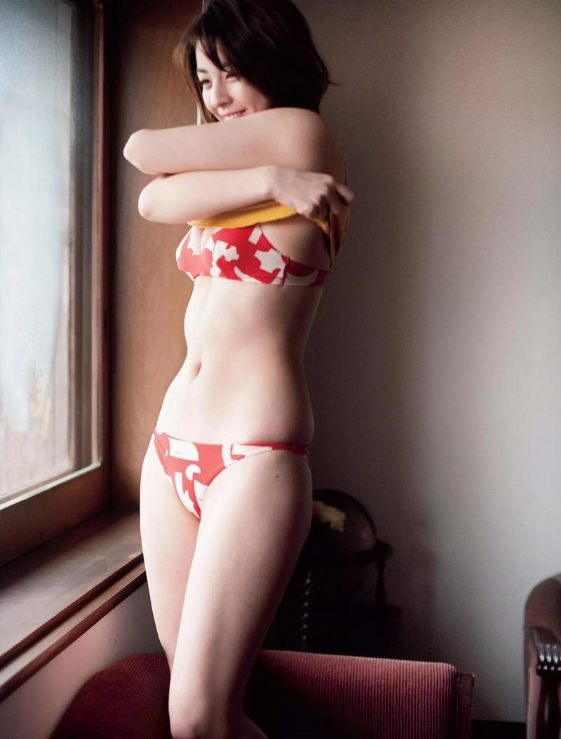 【柳ゆり菜グラビア画像】マッサンで女優としての才能を開花させたクビレボディがエロいEカップグラドル 55