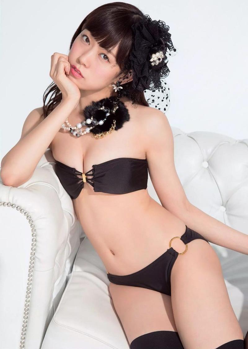 【渡辺美優紀グラビア画像】AKBグループの元アイドルが今まで披露してきた谷間全開な水着姿の数々がこちら! 63