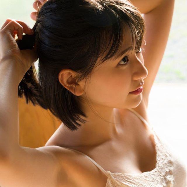 【山田南実グラビア画像】黒髪ボブヘアが美少女感あってめちゃくちゃ可愛いくてチンコ勃つわwwww 55