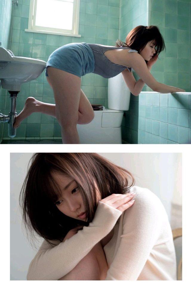 【今泉佑唯エロ画像】アイドルグループ欅坂46で一期生を務めた美少女の健康的なグラビア画像 34