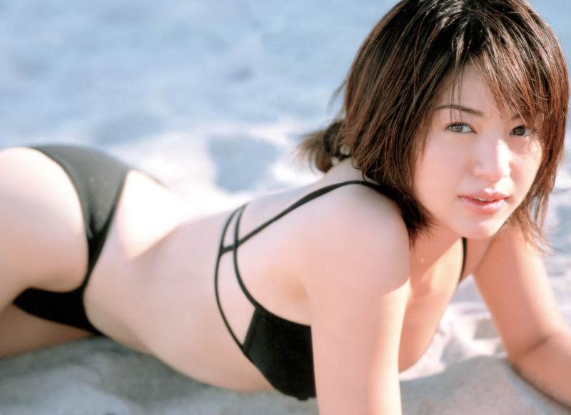 【井川遥グラビア画像】40歳を越えて近頃インスタで綺麗と囁かれている美熟女が昔撮ったセクシー画像