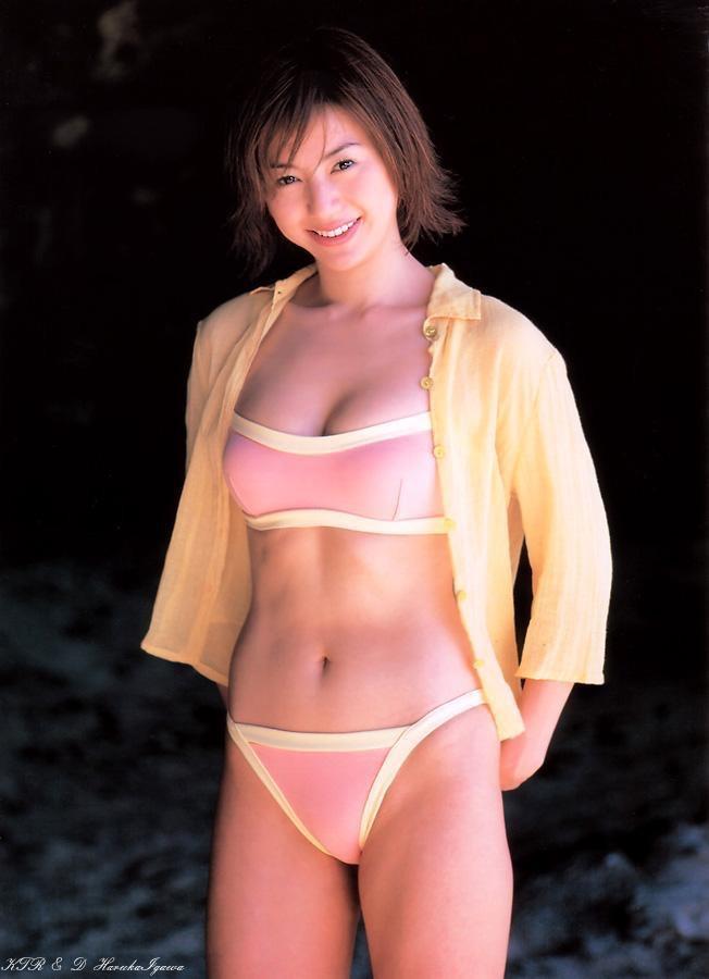 【井川遥グラビア画像】40歳を越えて近頃インスタで綺麗と囁かれている美熟女が昔撮ったセクシー画像 40