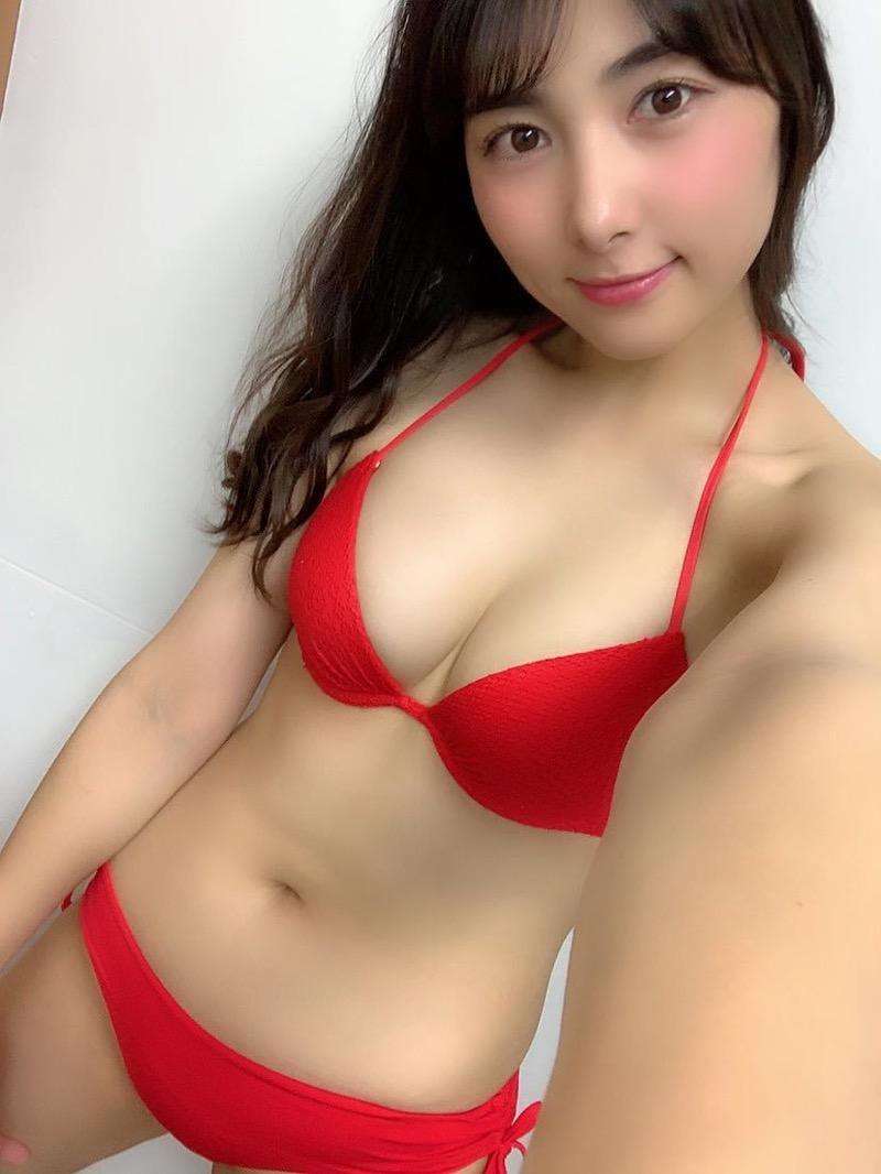 【南沙羽エロ画像】Fカップ巨乳の谷間をツイッターで見せつけてるサービス満点なグラビアアイドル 29