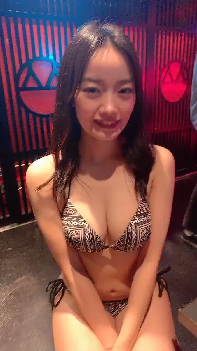 【青科まきエロ画像】Fカップの居酒屋店員が話題を呼んでグラビアアイドルとしてデビューしたってマジかwwww 04
