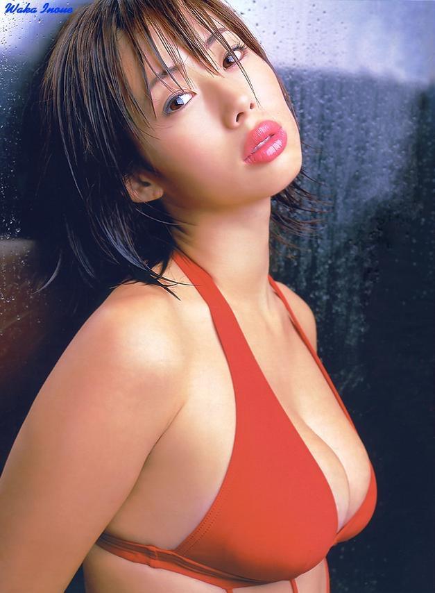 【井上和香グラビア画像】かつて「ワカパイ」と呼ばれたFカップ巨乳のグラビアアイドルの現在は? 11