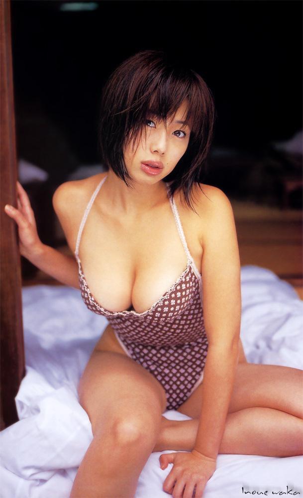【井上和香グラビア画像】かつて「ワカパイ」と呼ばれたFカップ巨乳のグラビアアイドルの現在は? 22