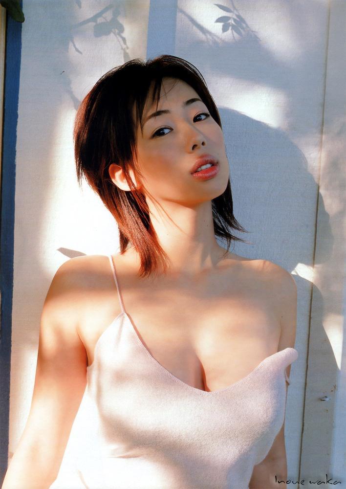 【井上和香グラビア画像】かつて「ワカパイ」と呼ばれたFカップ巨乳のグラビアアイドルの現在は? 32